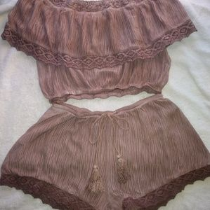 storia Shorts - ✳Set✳Storia top and shorts set